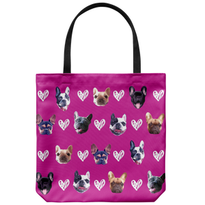 Custom Dog Faces - Tote Bag