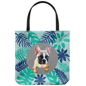 French Bulldog - Forest - Tote Bag