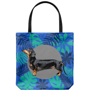 Dachshund - Forest Style Tote Bag
