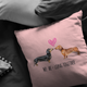 Dachshund - We BeLong Together Pillow