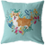 Corgi - Heart Shape Flower Pillow