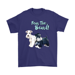 Custom Pet Portrait - Fear The Beard Unisex T-Shirt