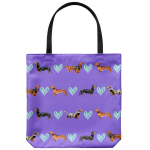 Dachshund Collections Tote Bag