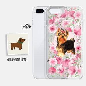 Custom Phone Case - Rose Garden