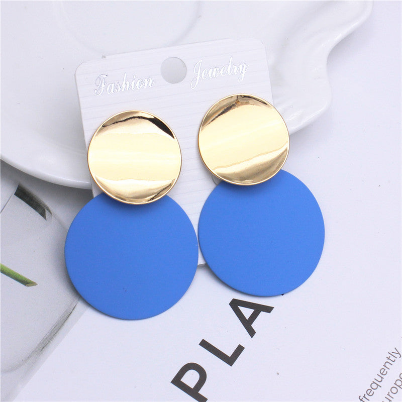 Layered Disc Earrings