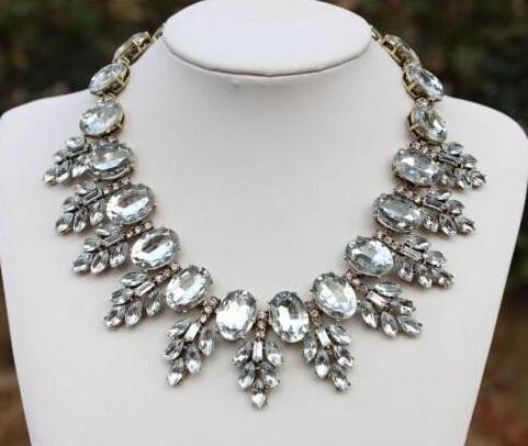 Statement Crystal Jewels Necklace