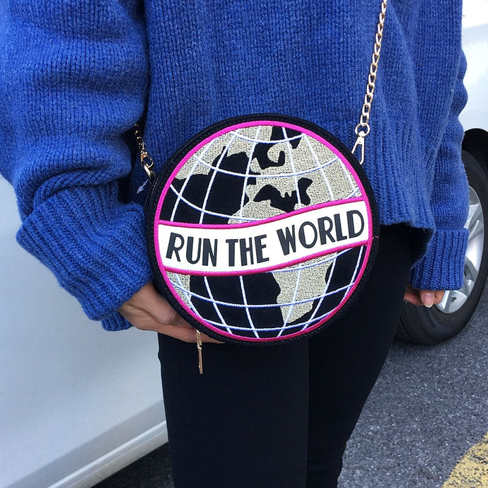 Run The World Messenger Bag