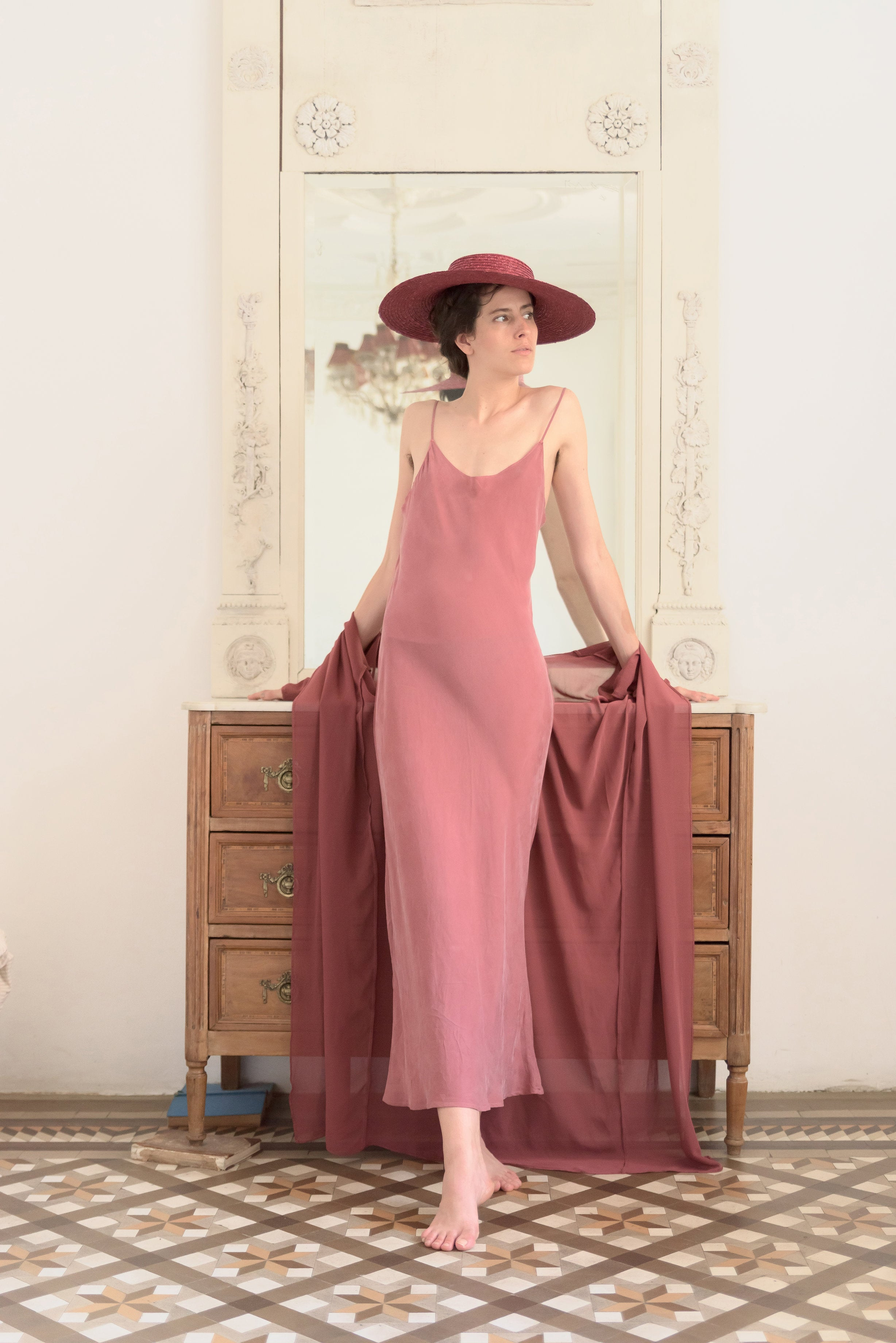 Lencero Dress Rose