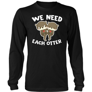 We Need Each Otter
