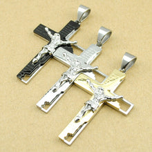 Load image into Gallery viewer, Stainless Steel Cross Necklace