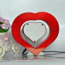 Load image into Gallery viewer, Heart Shaped Floating Photo Frame LED