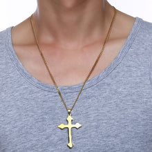Load image into Gallery viewer, Cross Pendant Necklace