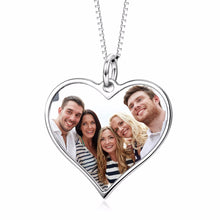 Load image into Gallery viewer, Personalized Heart Pendants Necklace