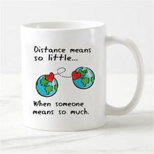 Load image into Gallery viewer, Long Distance Relationship Magic Mug /Heat Color Change