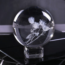 Load image into Gallery viewer, 3D Laser Engraved A Bunch of Roses Sphere