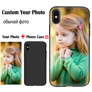 Custom Personalized Phone Case For iPhone 6 6S 7 8 Plus X S R XS MAX XR