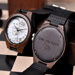 Personalized Men Watch Wooden Timepieces