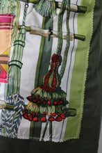 Load image into Gallery viewer, Vintage Army Jacket Reclaimed With Applique From Six Different Hermes Scarves
