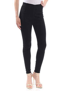Free People Womens Jeans sz 25 Black Denim Ultra High Rise Skinny Jeggings NWT