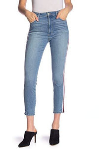Joes Jeans Women sz 32 The Charlie High Rise Skinny Ankle Tuxedo Stripe NWT $198