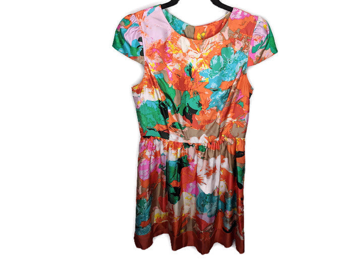 Anthropologie Ali Ro Silk Dress sz 8
