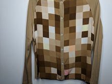 Load image into Gallery viewer, Salvatore Ferragamo Made in Italy Cardigan Sweater Wool & Silk sz M