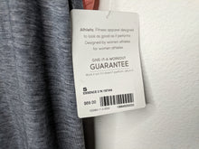 Load image into Gallery viewer, NWT $69 Athleta Essence 2 In 1 Tank Gray Peach sz S