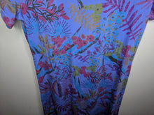 Load image into Gallery viewer, NWT $59 Fresh Produce Bright Botanical Sadie Dress Peri Blue Floral Made in US sz M
