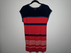 Jason Wu Ltd Edition Target Red White Blue Striped Dress sz M