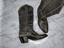 Load image into Gallery viewer, Nocona Gray Cowboy Boots sz 6C
