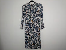 Load image into Gallery viewer, New $650 EDUN Beige Leaf Print Sheath Dress sz 2