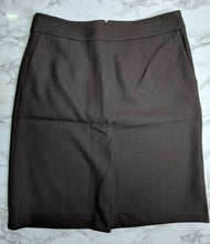 Load image into Gallery viewer, NWT $70 Ann Taylor Loft Brown Pencil Skirt sz 6