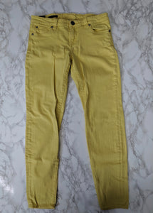 $79 Kut From The Kloth Yellow Toothpick Skinny Jeans sz 6