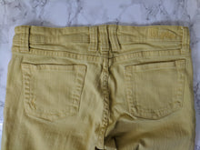 Load image into Gallery viewer, $79 Kut From The Kloth Yellow Toothpick Skinny Jeans sz 6