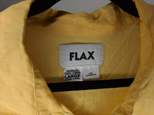 Load image into Gallery viewer, FLAX Marigold Linen Maxi Dress sz L