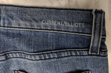 Load image into Gallery viewer, $288 Current/Elliott The Stiletto Patchwork Jean sz 25