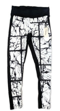 Load image into Gallery viewer, NWT $135 Koral Emulate Legging Marble Black & White sz L