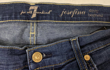Load image into Gallery viewer, 7 For All Mankind Josefina Skinny Boyfriend Jeans sz 30