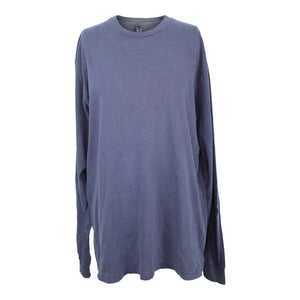 American Apparel Heavy Jersey Long Sleeve Box T Shirt Adult S Faded Ink NEW $24