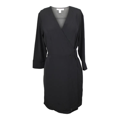 Topshop Belted Wrap Dress in Black NWT $60