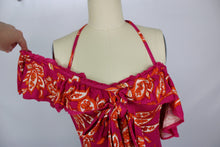 Load image into Gallery viewer, Free People CHA-CHA TOP sz S in Raspberry Sorbet Combo Pink NWT $68