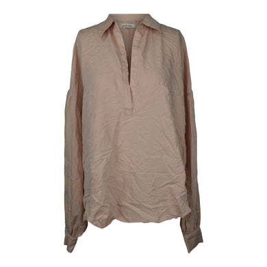 Free People Love Until Tomorrow Blouse sz M in Pink Pearl NWT $98