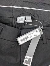 Load image into Gallery viewer, NWT JCP for JC Penny Black Chino Stretch Ankle Pant sz 6