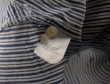 Load image into Gallery viewer, NWT JCP JC Penney Estate Blue Dot Collar Shirt sz M