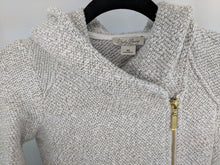 Load image into Gallery viewer, $139 Lucky Brand Woven Sweater Jacket sz XS