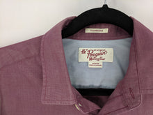 Load image into Gallery viewer, $79 Original Penguin Classic Fit Shirt Short Sleeve Burgundy sz M