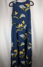 Load image into Gallery viewer, Paradise Found Hawaiian Print Dress sz L