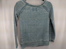 Load image into Gallery viewer, Volcom Metal Revolution Owl Burnout Green Sweatshirt sz XS