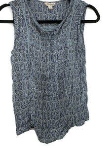 Lucky Brand Peasant Top sz S