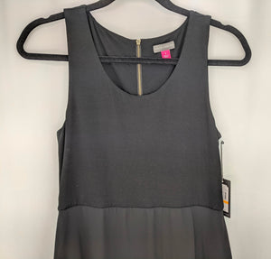 NWT $109 Vince Camuto Black Dress sz S